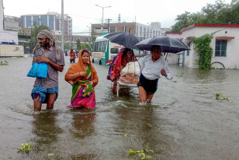 At least 100 dead in north India late monsoon fury