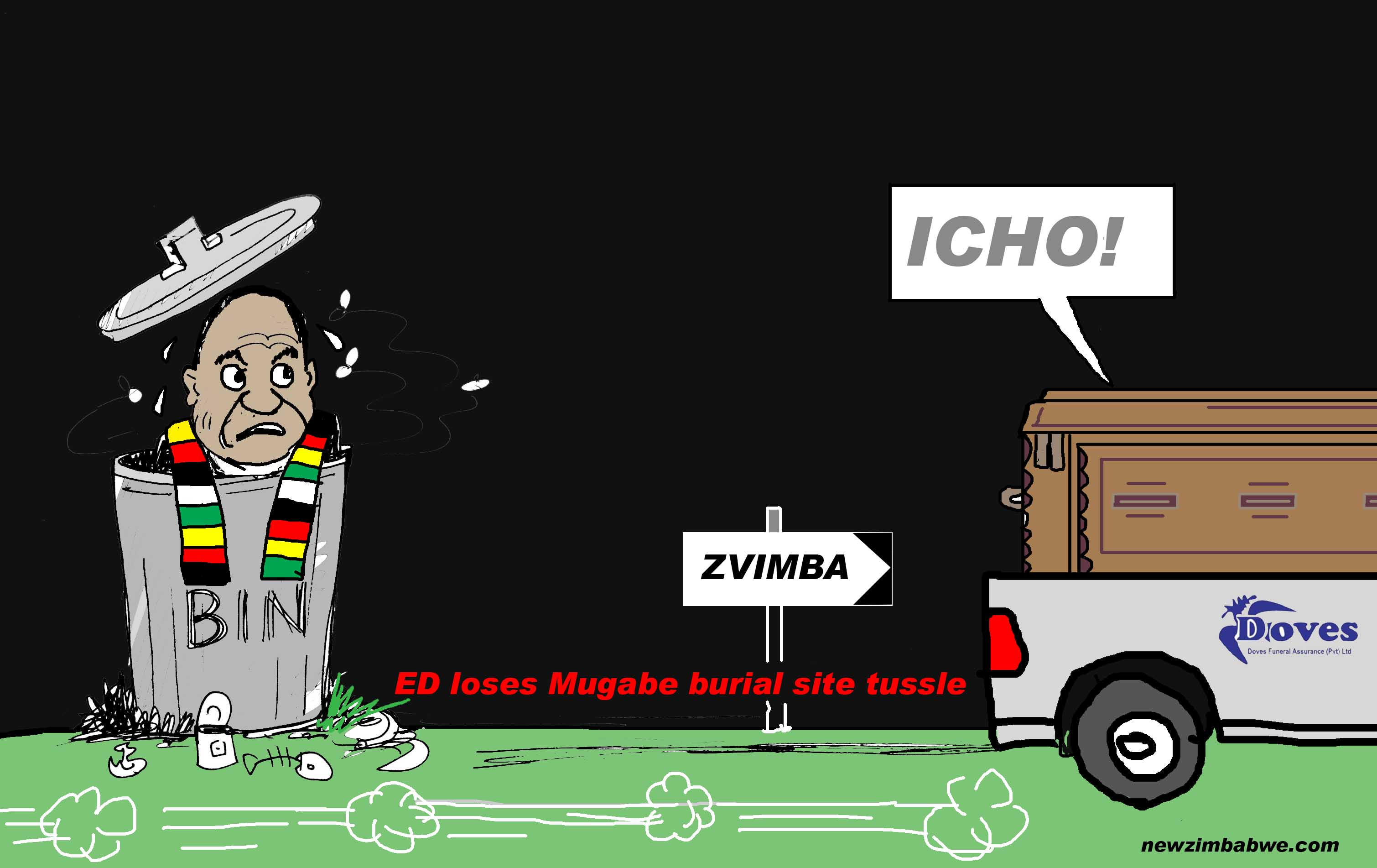 ED loses fight against Mugabe
