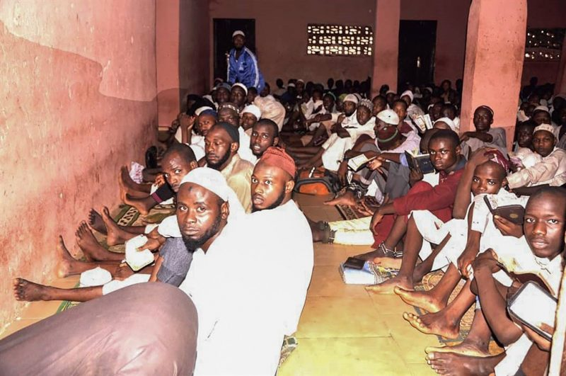 Captives rescued from Nigeria Koranic school