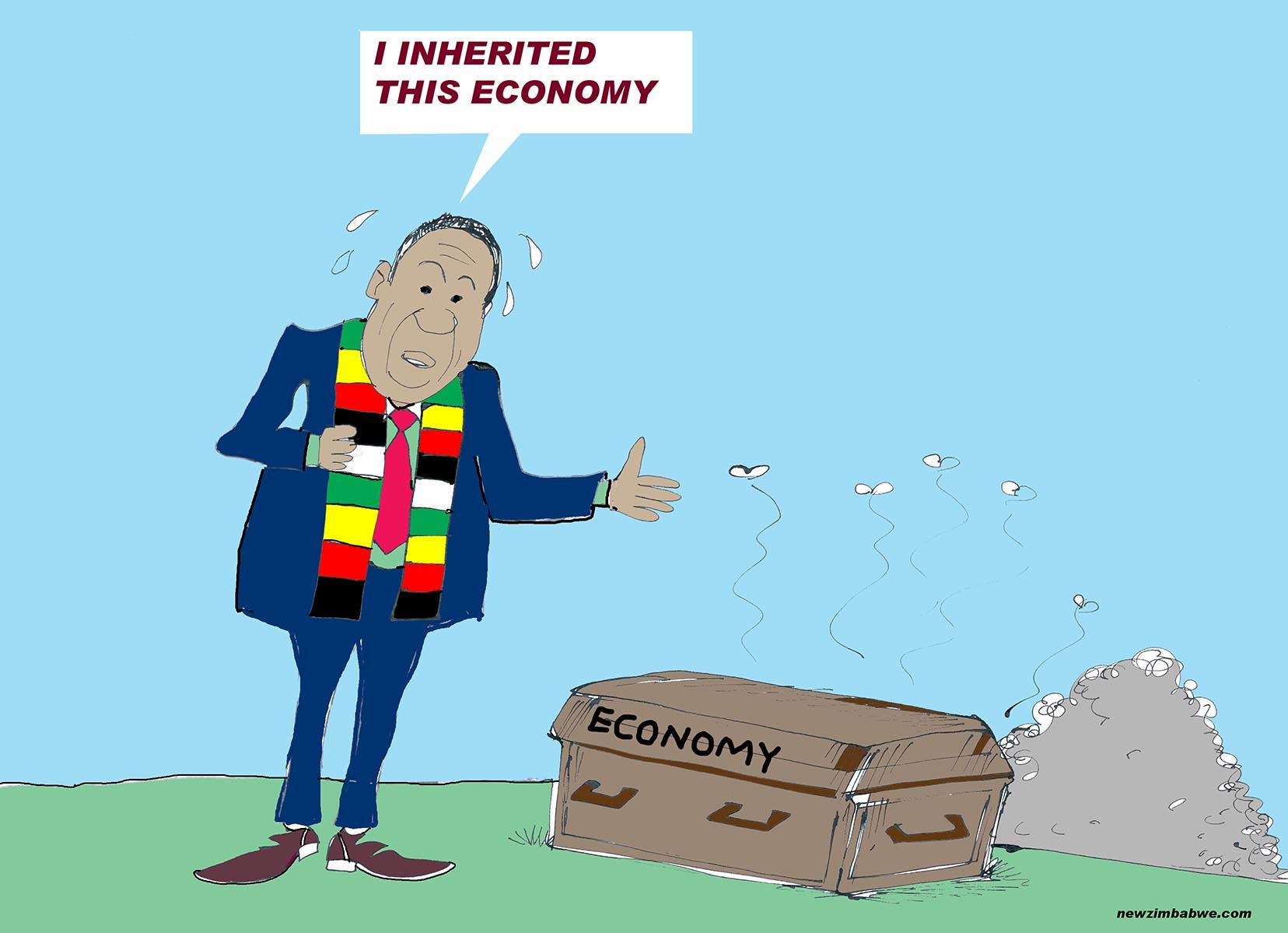 ED inherited this economy