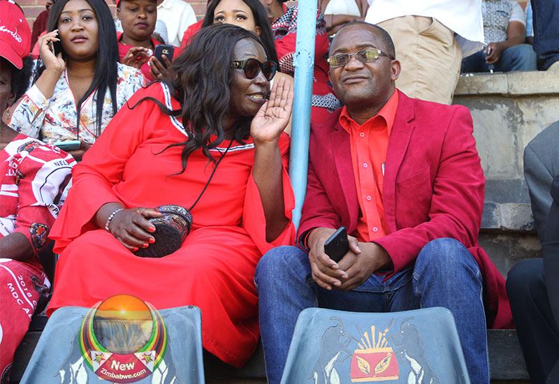 Tracy Mutinhiri Quits MDC