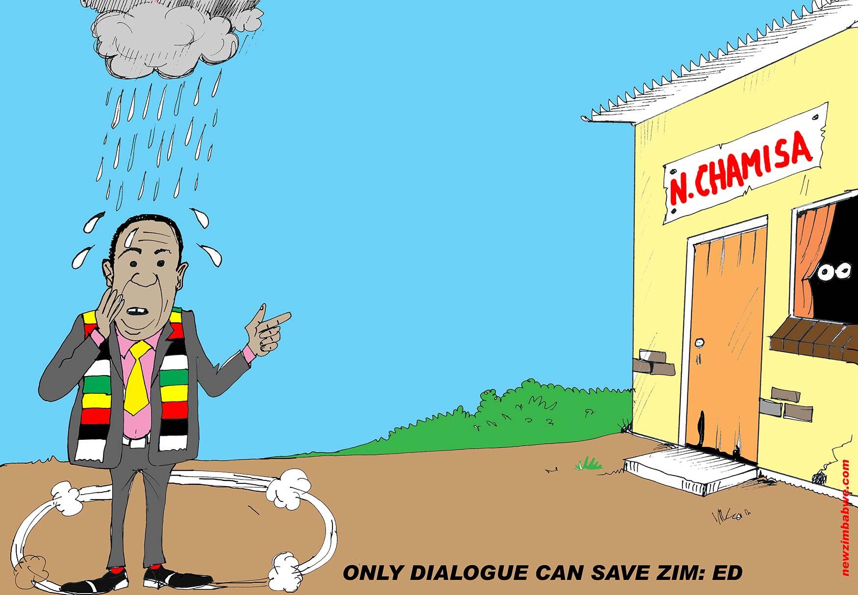 Dialogue can save Zimbabwe
