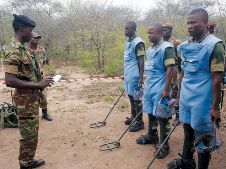 Landmines: Thousands of villagers remain at risk of losing lives