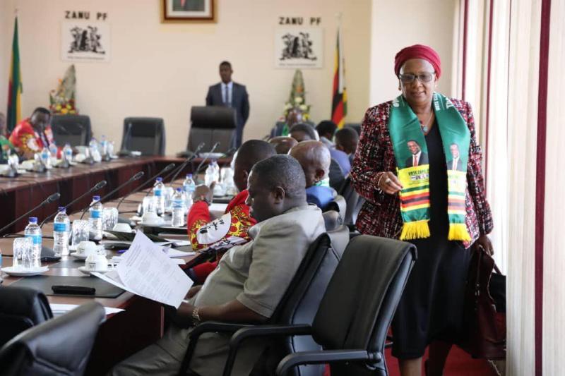 Mupfumira Snubbed During Surprise Zanu PF Meeting Appearance