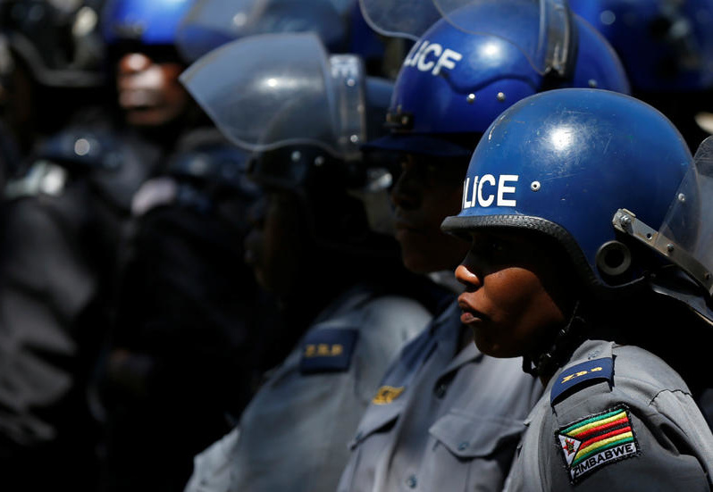 Female Cops Cry Sexual Abuse While Using Bush Toilets At Roadblocks