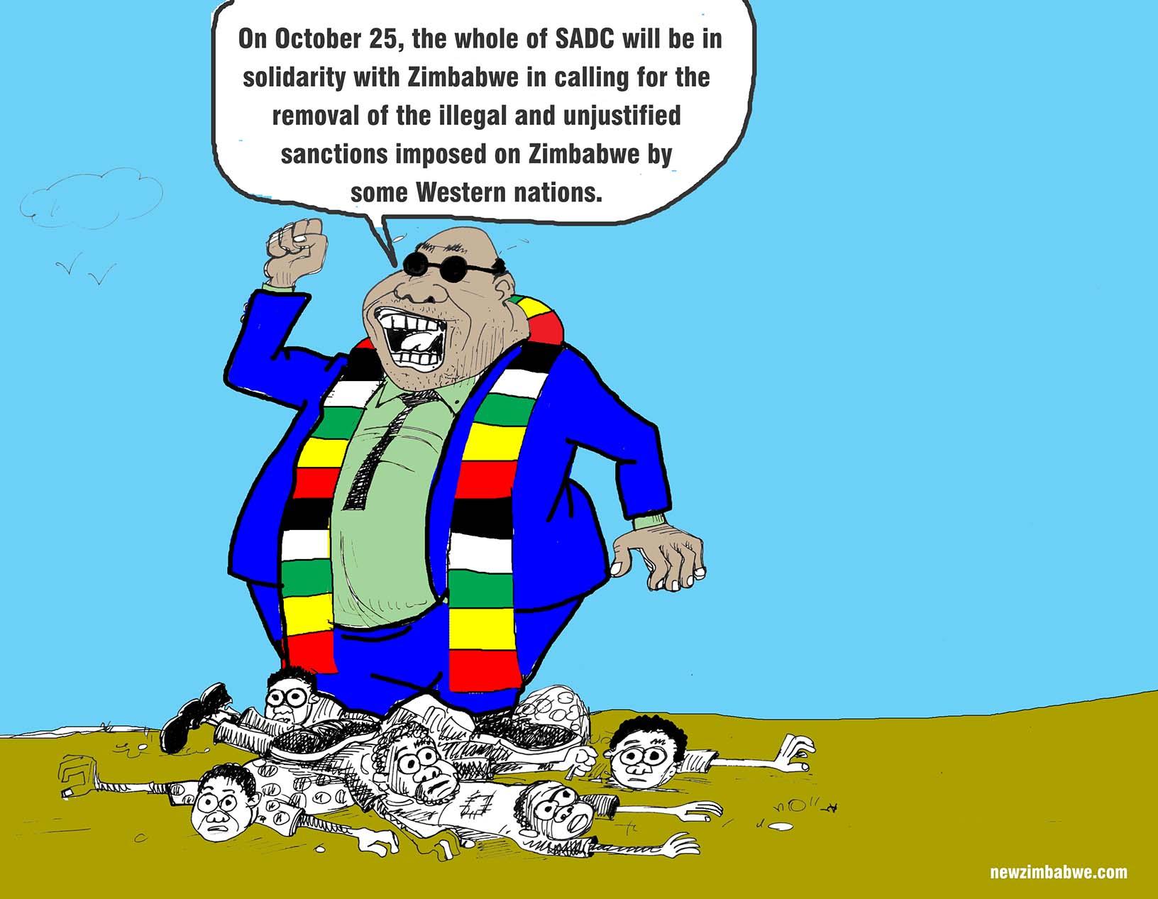 Anti-sanctions march