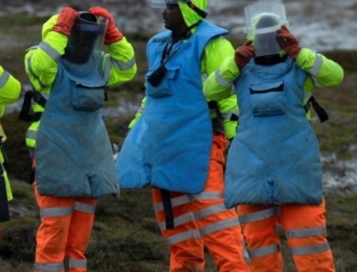 Zimbabwean deminers keeping the Falklands safe
