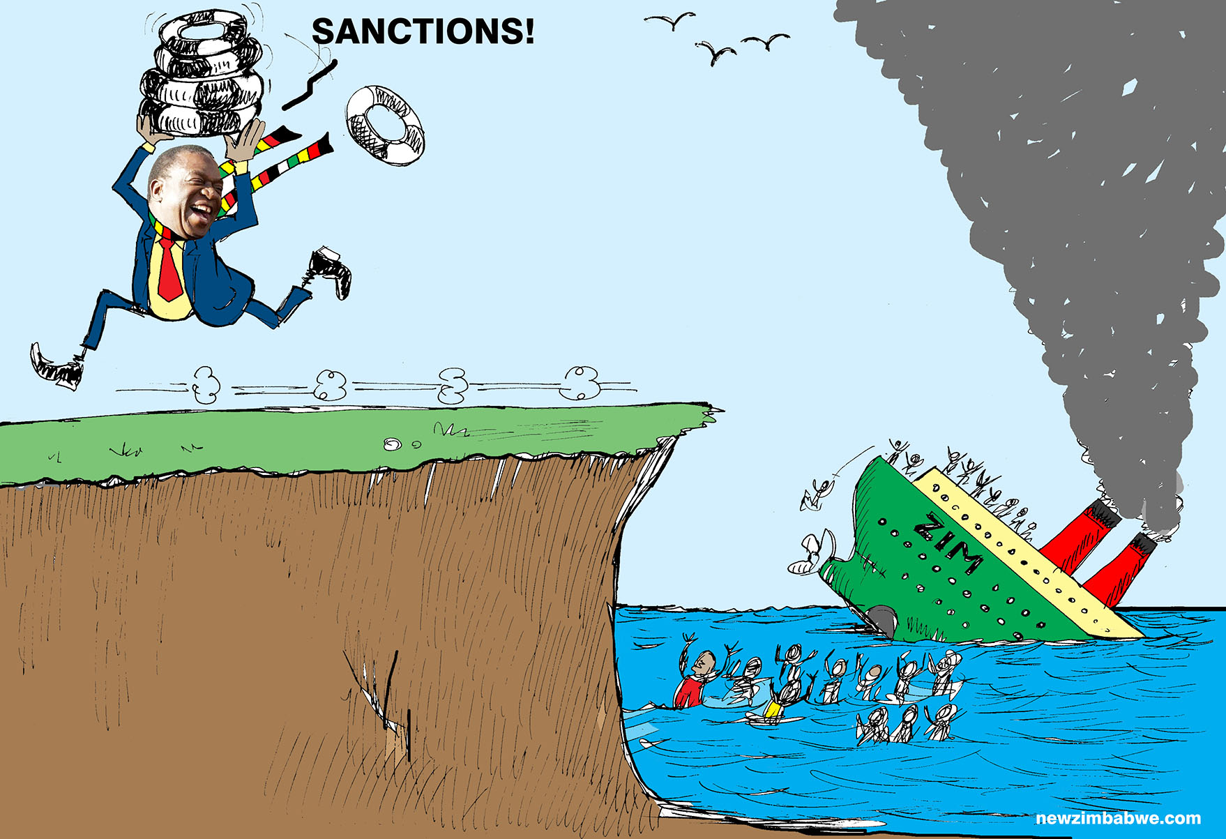 It is sanctions