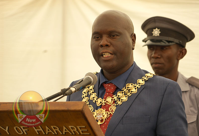 Harare Mayor Donates COVID-19 Ventilators To Bulawayo City Council