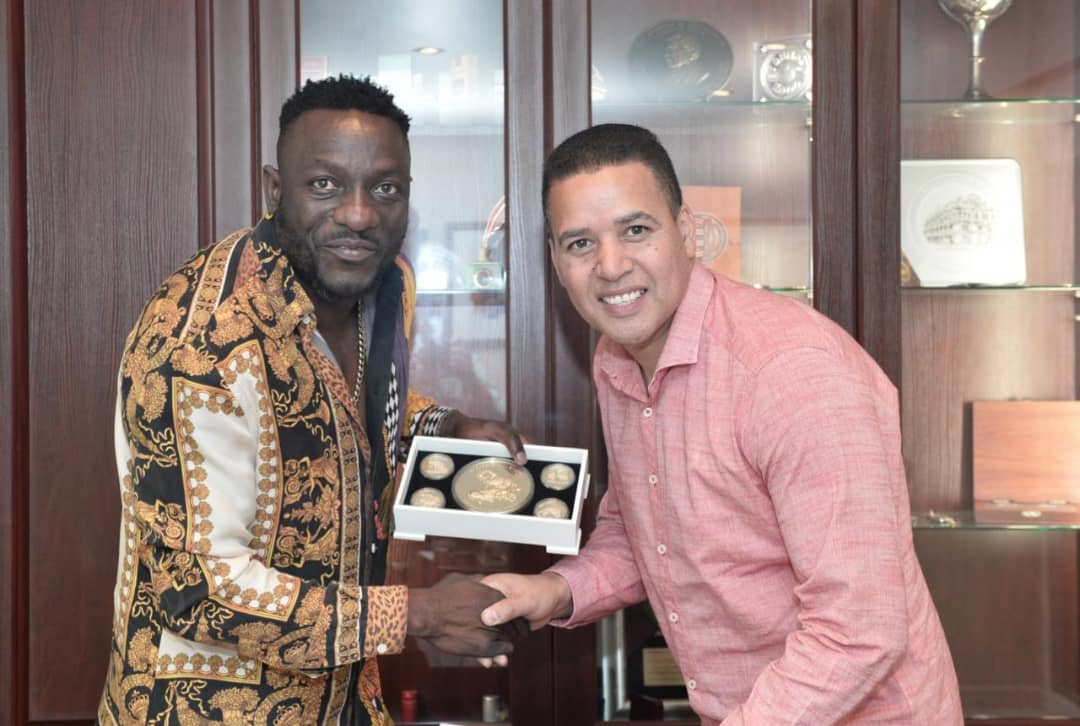Kadungure honoured with gold in SA