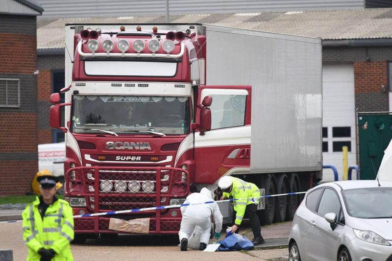 UK driver admits two charges in truck deaths case