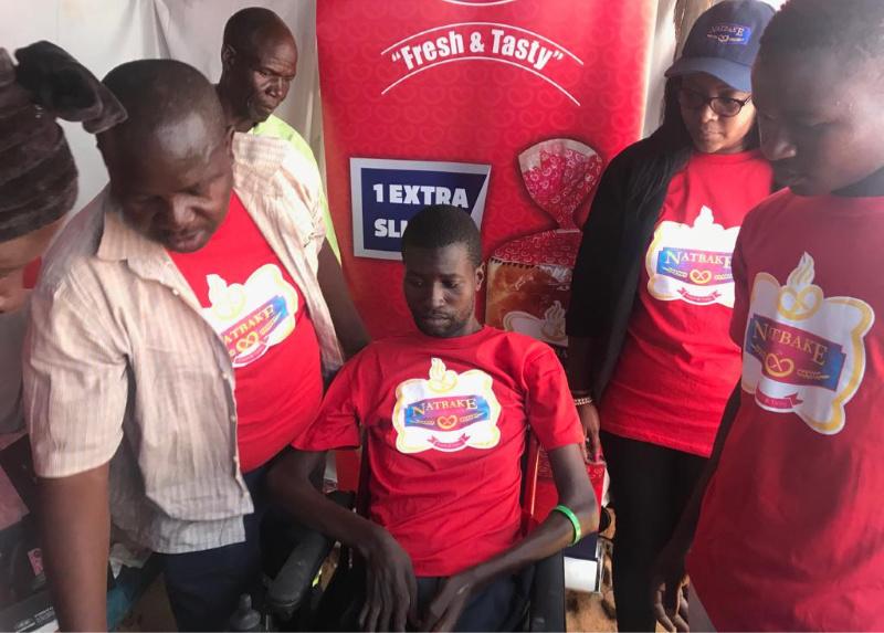 Natbake in $200k worth donation to Harare quadriplegic