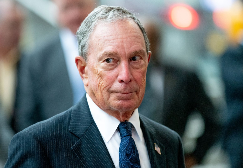 US billionaire Bloomberg considers Trump poll challenge