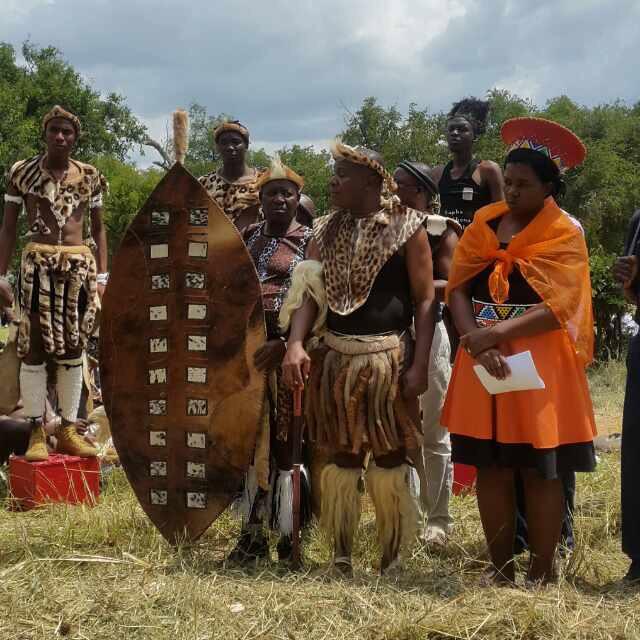 King Mzilikazi 11 mourns Xhosa King