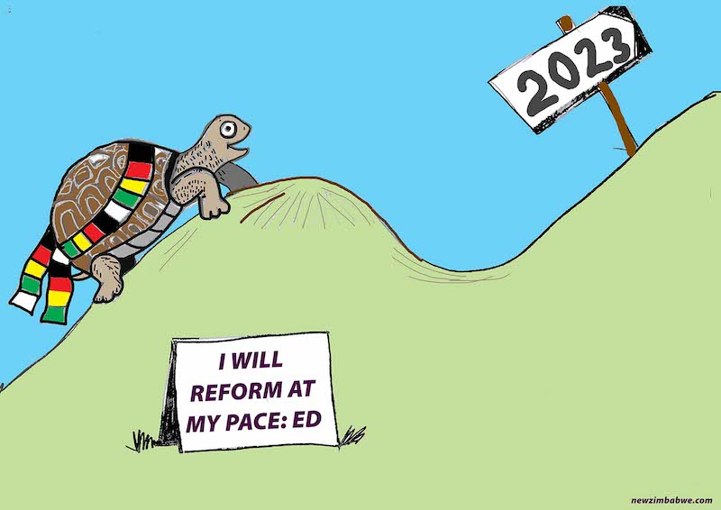 I will reform at my pace