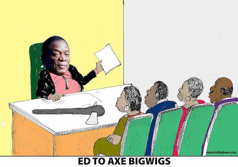 Mnangagwa to axe biwigs