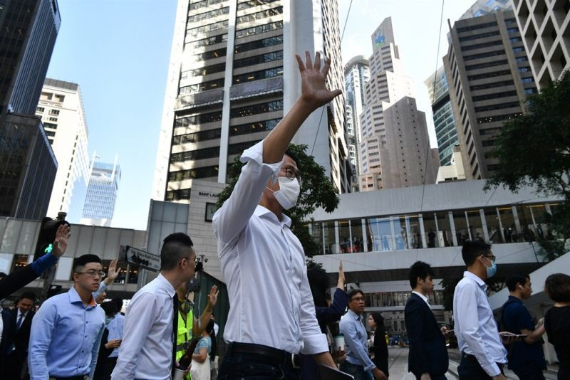 Hong Kong establishment crushed at polls in stark message to Beijing