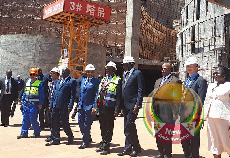 New Parliament Building takes shape: Mnangagwa lauds China, takes swipe at US