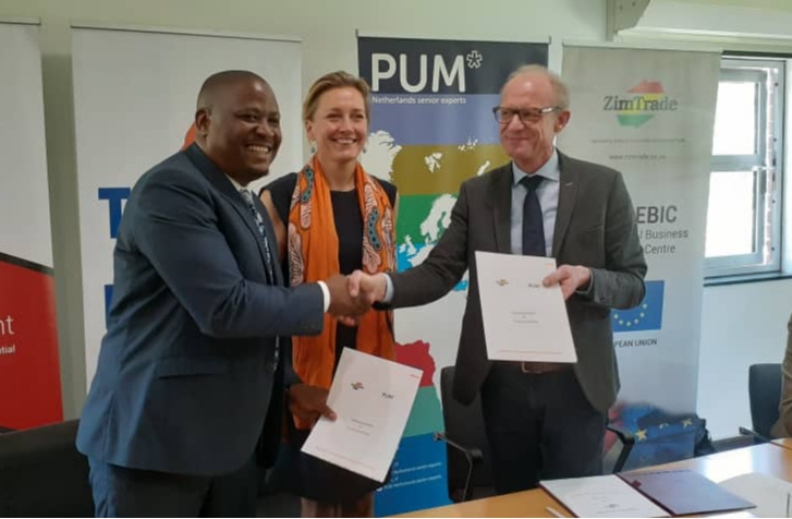 ZimTrade, PUM Netherlands sign agric MOU
