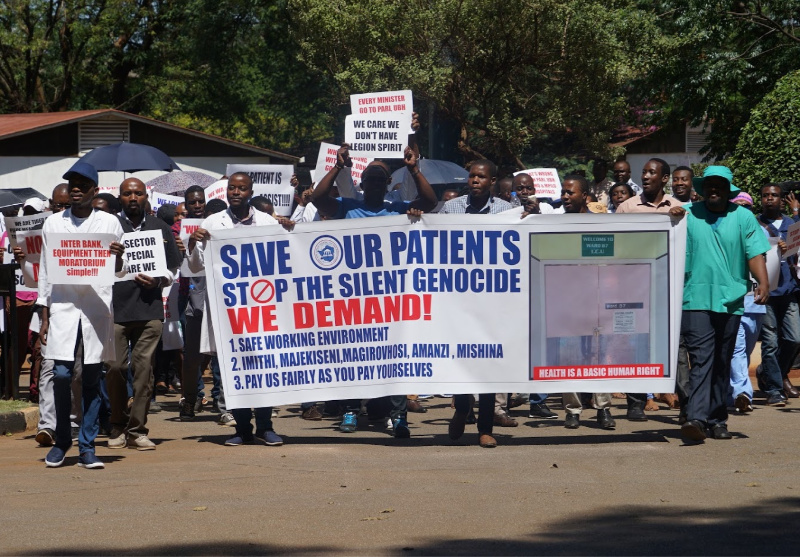 Zim doctors form splinter group as strike differences widen