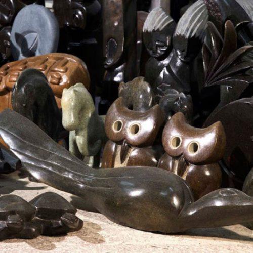 Zimbabwe sculpture artist bullish on growth of Chinese market