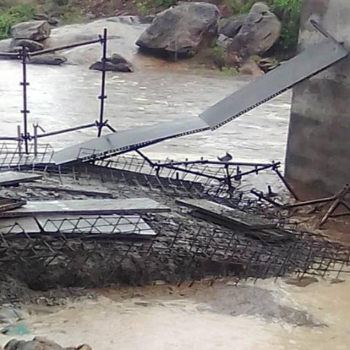 Karanda Bridge collapse: Minister Gumbo speaks on 'excellent work', says act of God