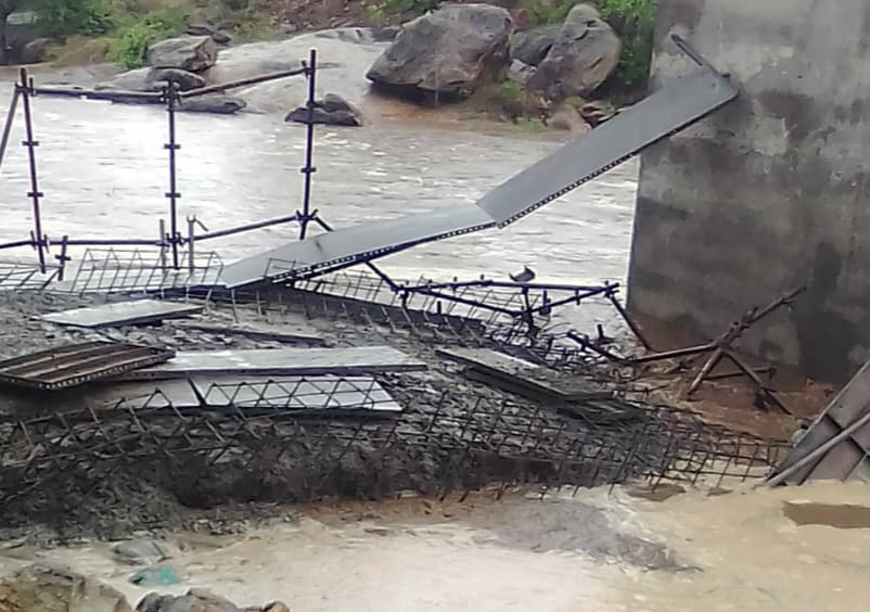 Karanda Bridge collapse: Minister Gumbo speaks on 'excellent work', says act of God