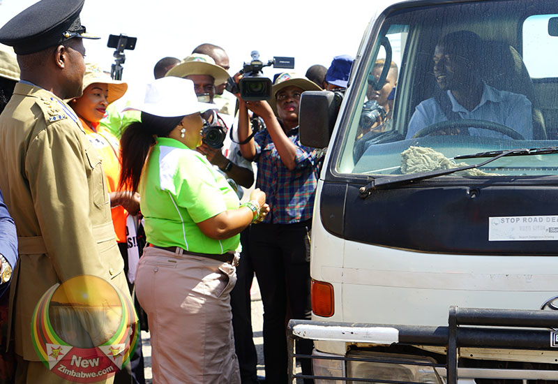 First Lady Urges Passengers to Sing for Drivers to Avoid Road Carnage