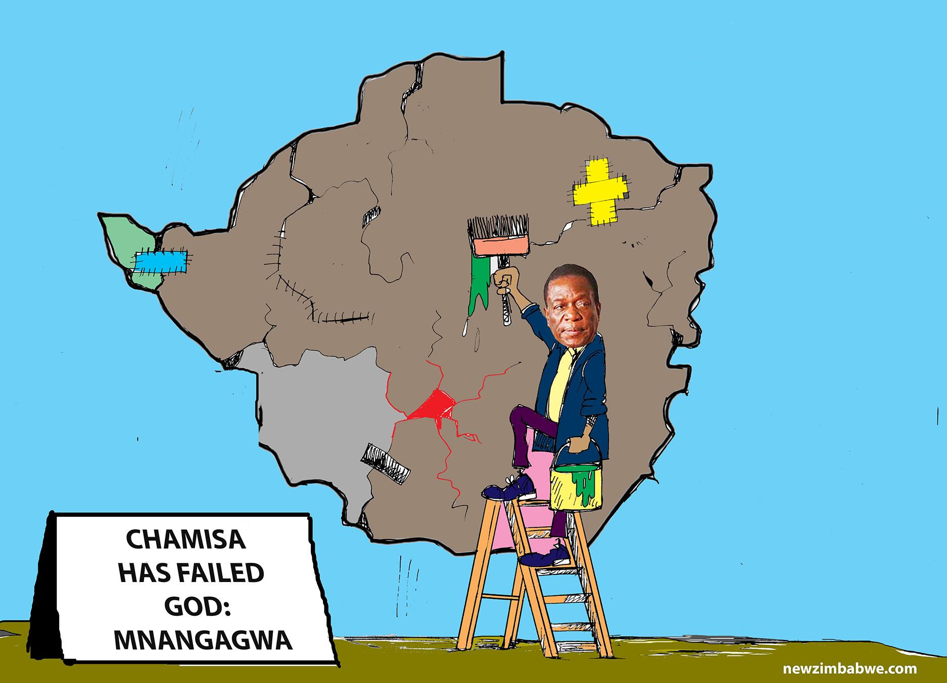 Chamisa has failed Zimbabwe : Mnangagwa