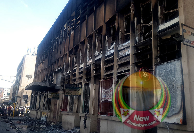 Harare Traders Lose Property Worth Thousands In Fire Break-Out