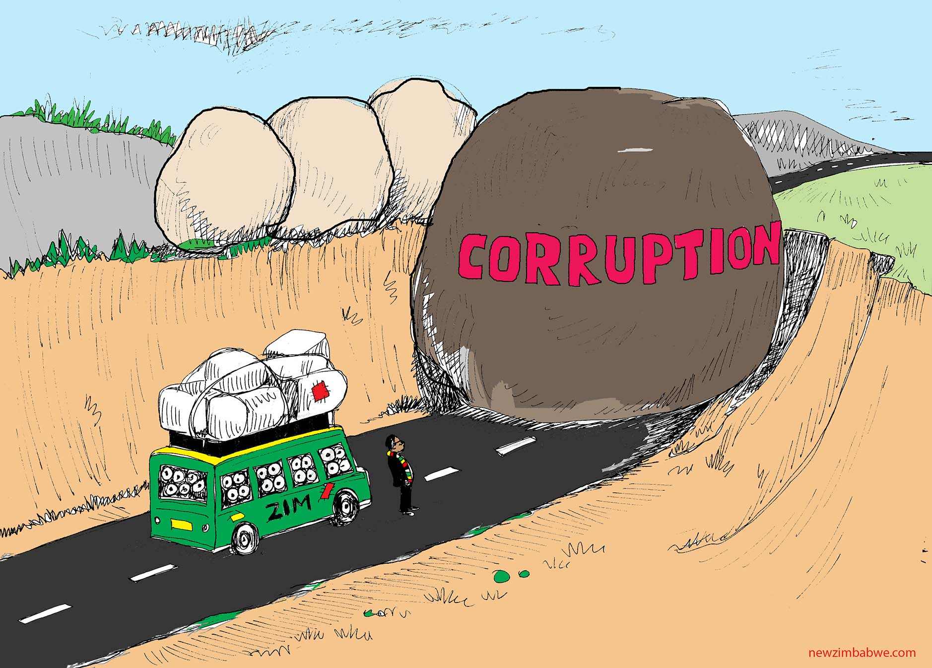 Corruption hampering Zim's progress