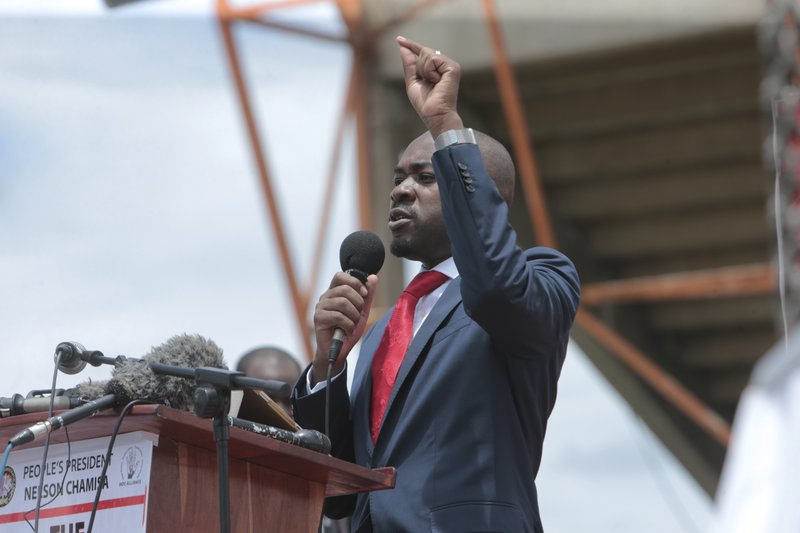 Chamisa vows street protests on the way