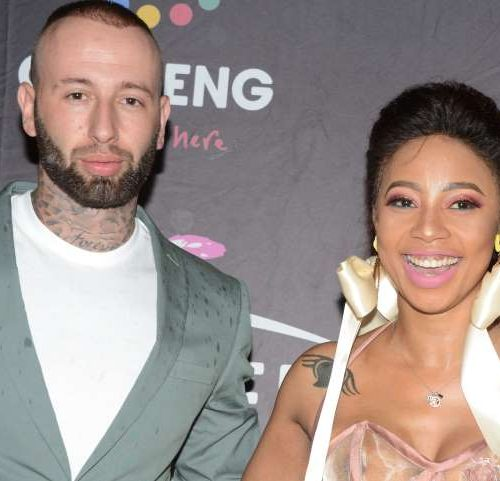 Kelly Khumalo has tattoo linked to Chad da Don covered up with a feather