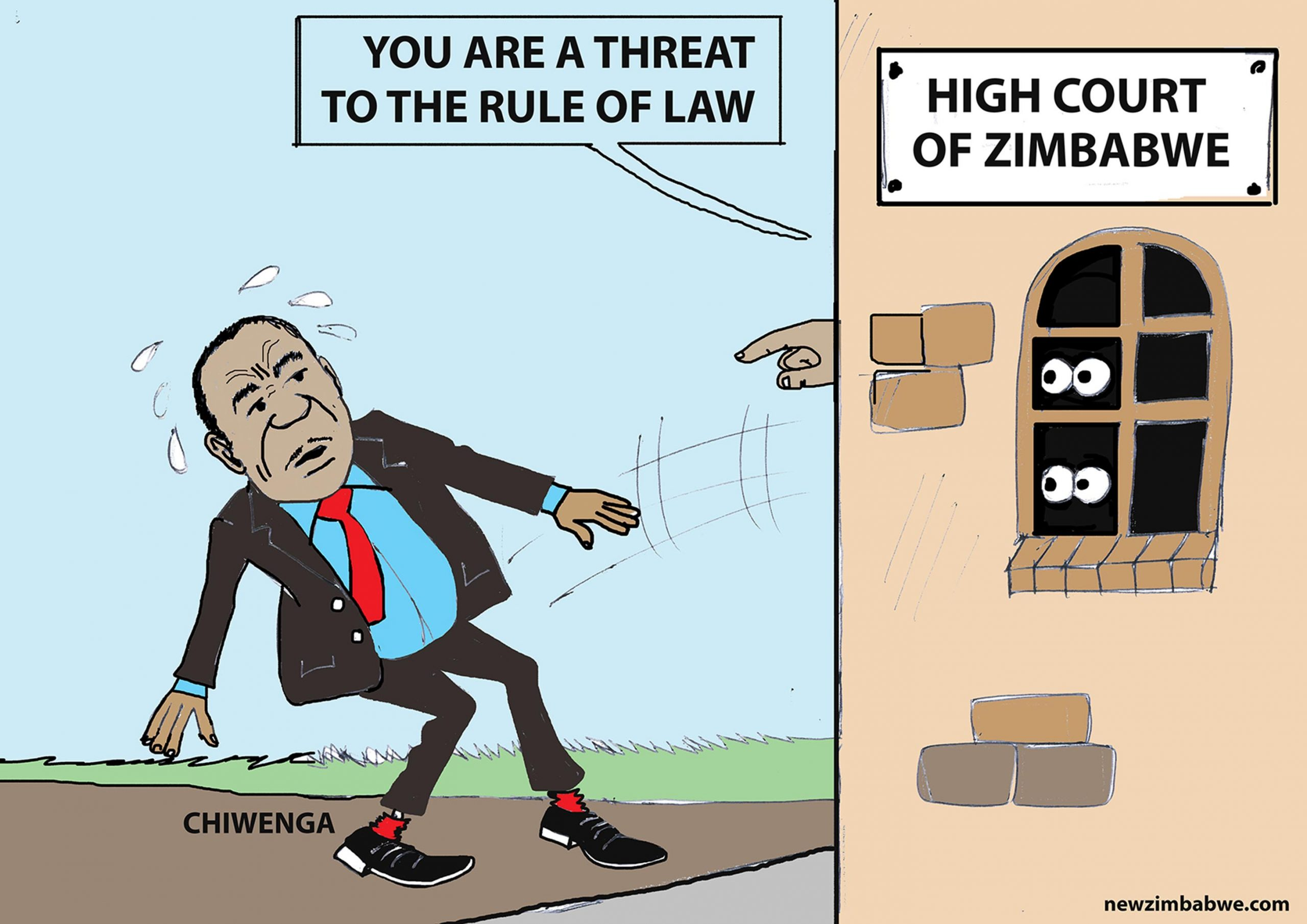 Chiwenga is a threat to rule of law