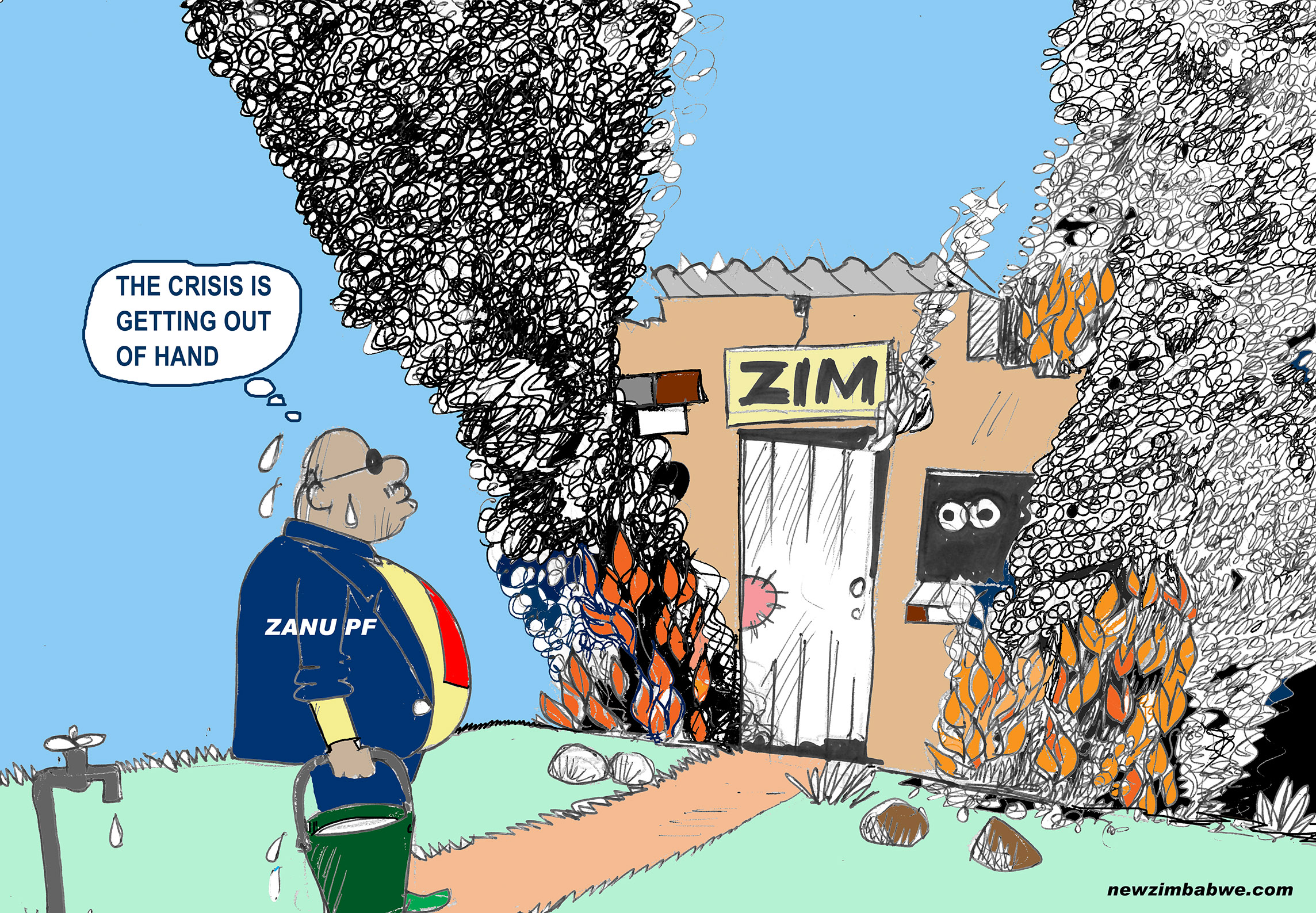 Zim crisis getting out of hand