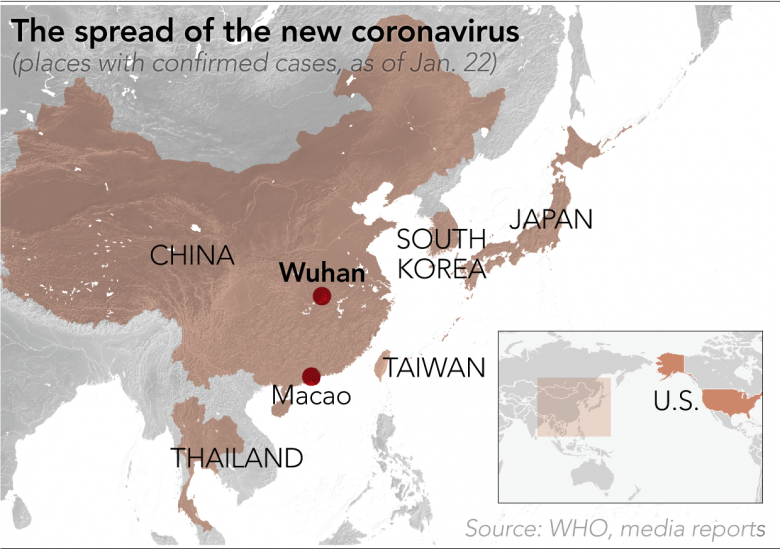 coronavirus us locations