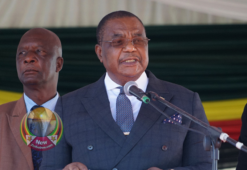 "WATCH: VP Chiwenga Fails To Say; ""Debilitating"", Communicators Blamed For Setting Him Up"