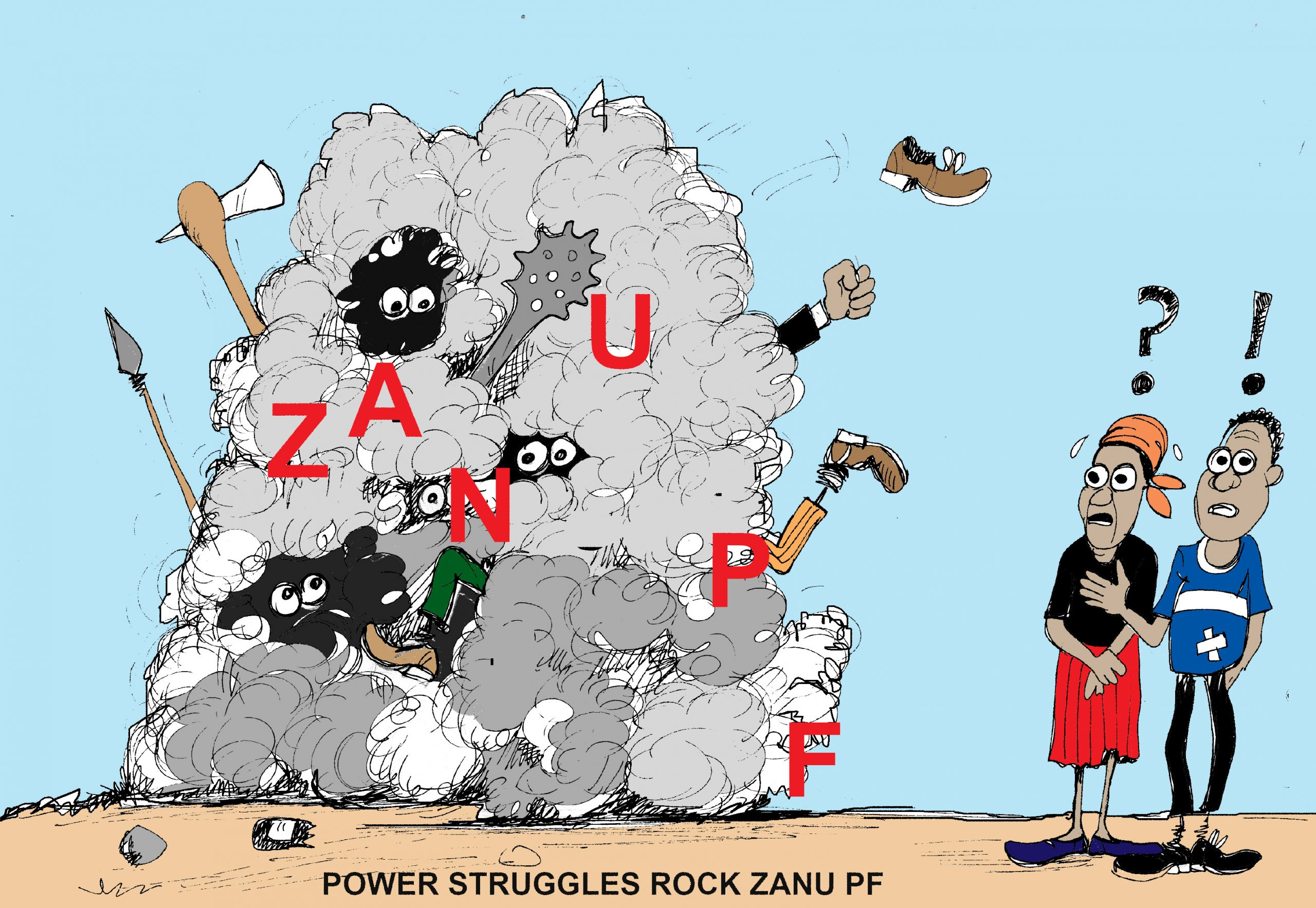 Zanu PF power struggles