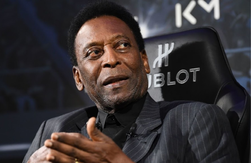 Ailing world soccer legend Pele 'embarrassed' to leave home