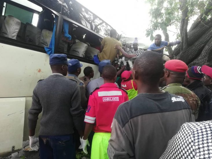 In Pictures: Seven People Die In Kwekwe Bus Accident