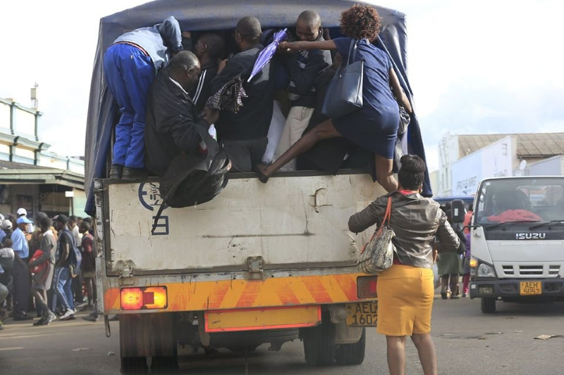 The daily jostle of securing urban transport