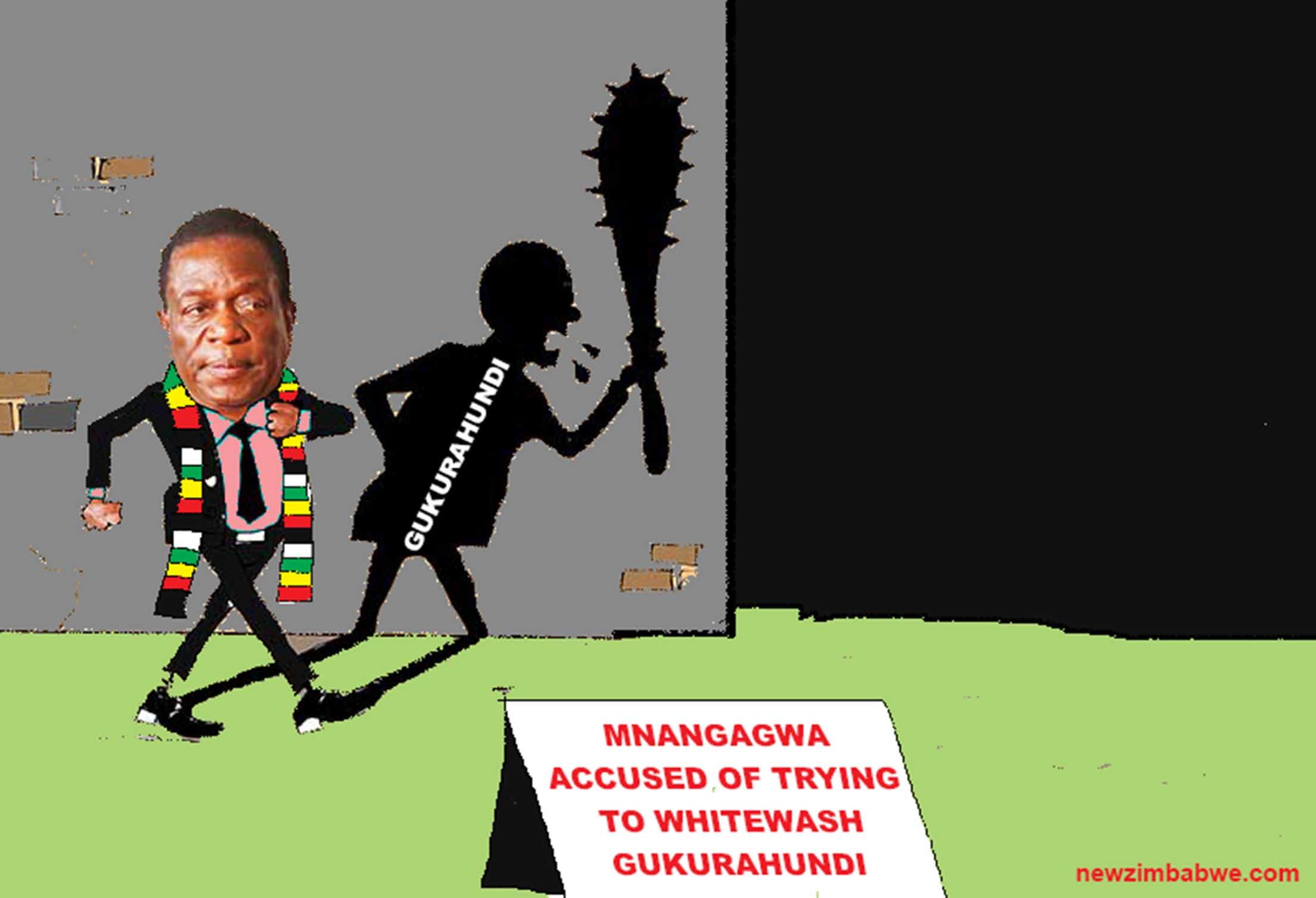 Mnangagwa and Gukurahundi