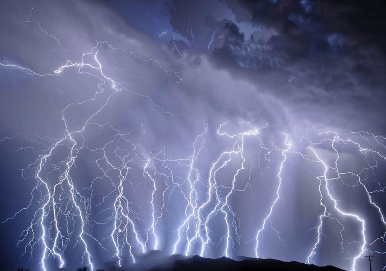 Two Siblings, Aged 8 And 4, Struck By Lightning While Gathering Wild Fruit