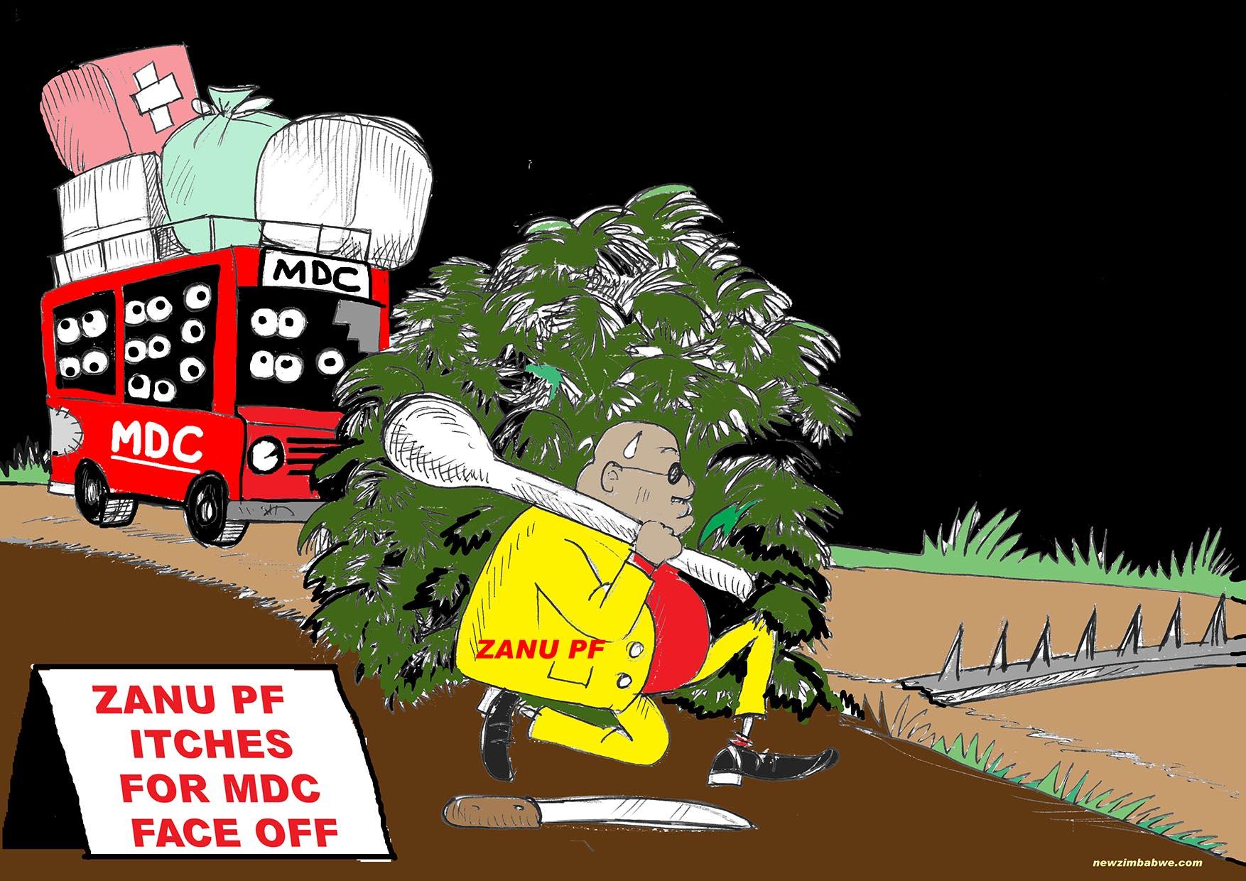 ZANU PF and MDC face-off