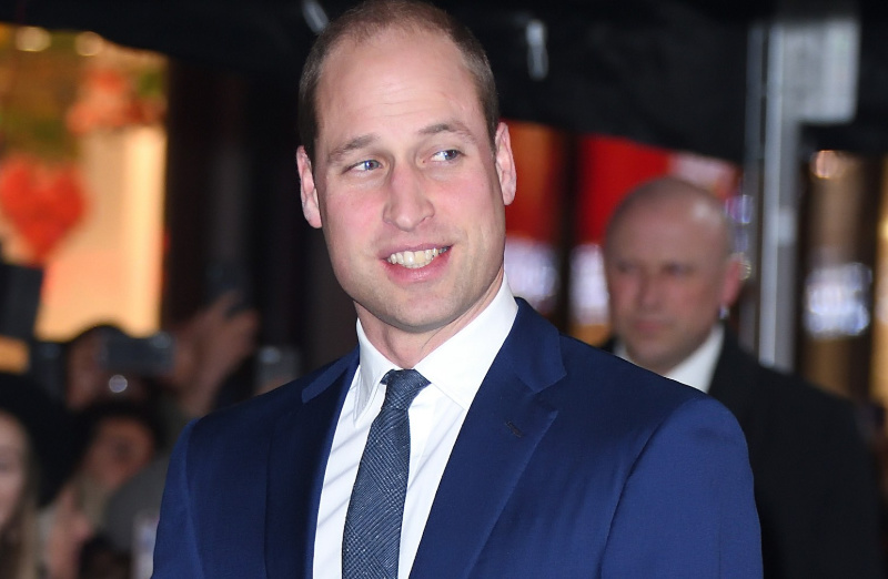 Prince William breaks royal protocol to take a selfie with a fan