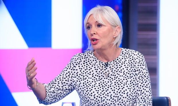 UK Health Minister Nadine Dorries Diagnosed With Coronavirus