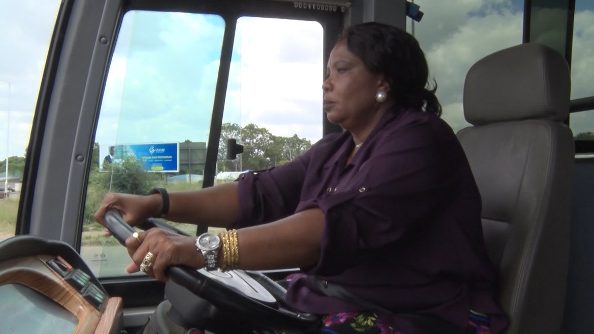 First Lady Mnangagwa Acquires Class One Driver's Licence