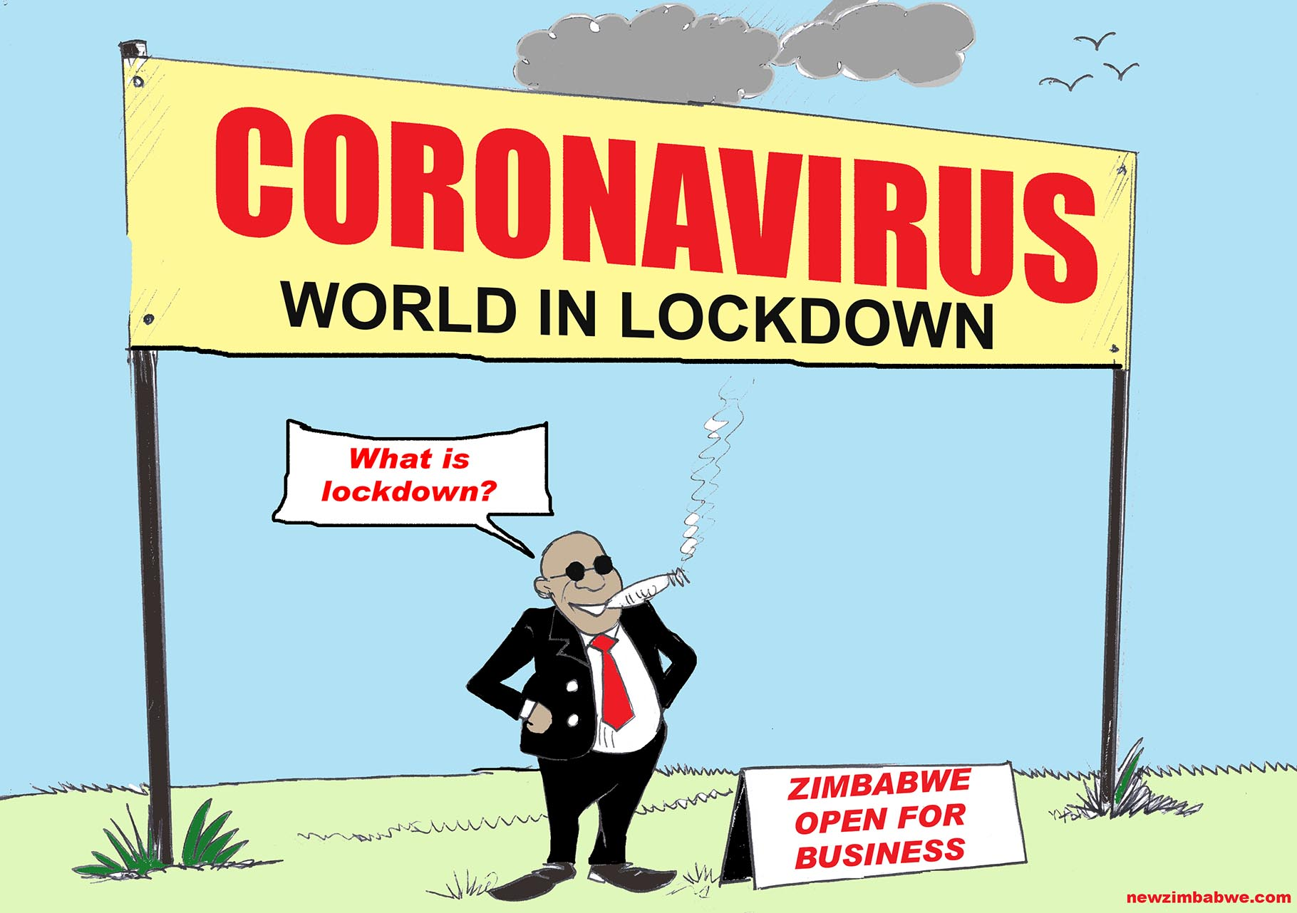 Coronavirus and Zim open for business
