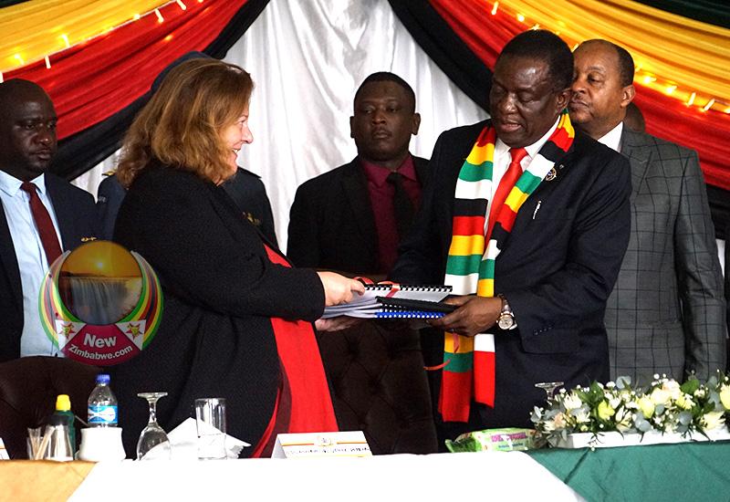 Mnangagwa launches coronavirus Preparedness Response Plan