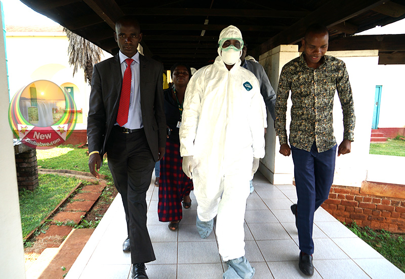 IMAGES: Chamisa tour to Wilkins Infectious Diseases Hospital